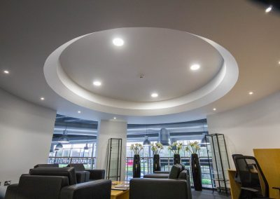 Car showroom led lighting Mercedes Bridgend (2)