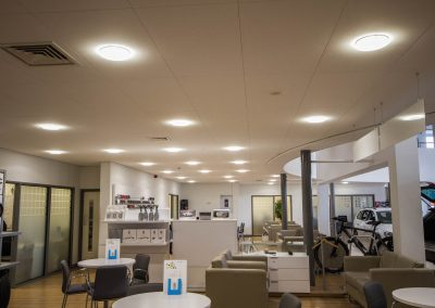 VW Cardiff Showroom Led Lighting 1