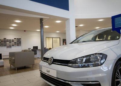 VW Cardiff Showroom Led Lighting 3